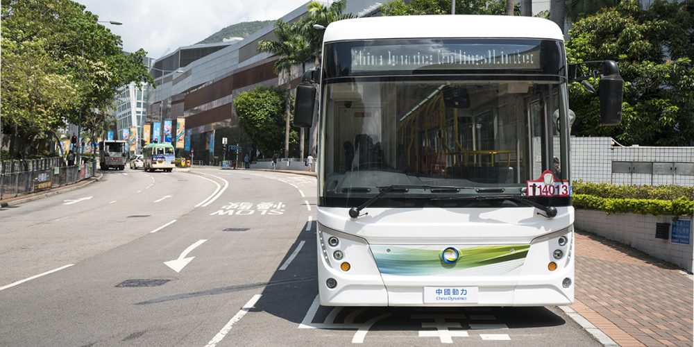 香港財政司司長 參觀我司 12米電動大巴