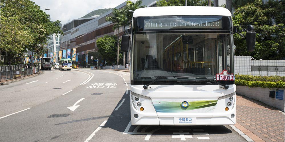 Hong Kong Financial Secretary Visits Our 12m Electric Bus