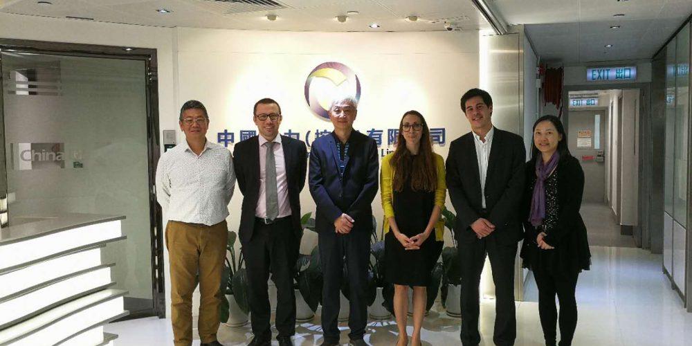 西班牙政府商務代表 到訪中國動力