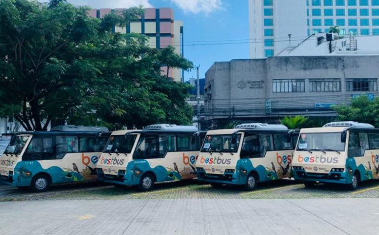 China Dynamics Launches Electric Buses in Davao, Philippines