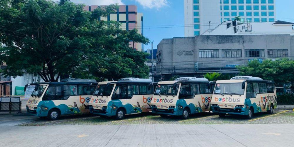 中國動力於菲律賓達沃市舉辦電動巴士車隊啟動禮