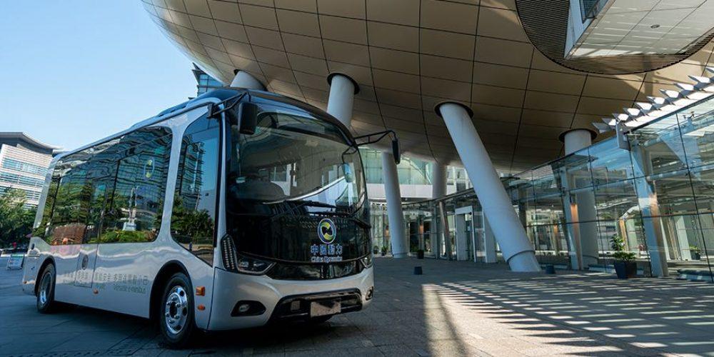 中國動力推出香港首輛電動無障礙小巴