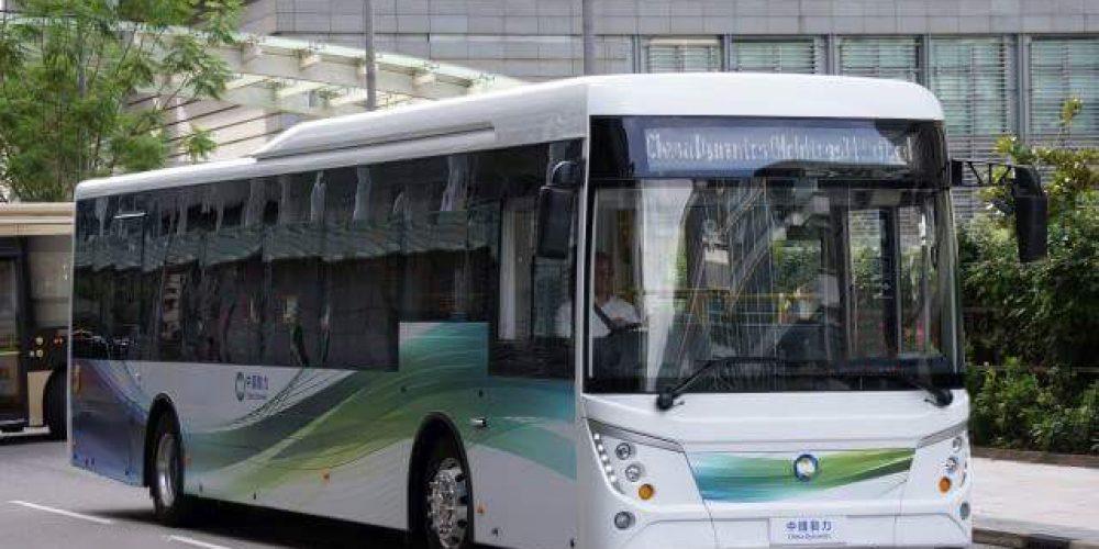 中國動力智慧電動巴士即將在香港亮相