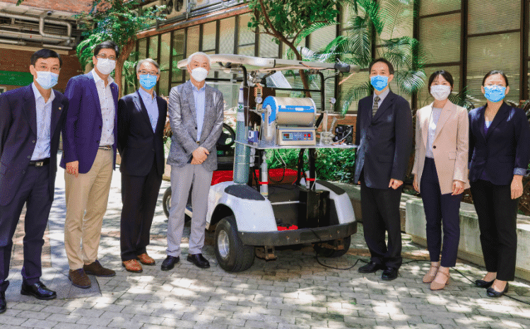 科軒動力贊助香港理工大學氨動力汽車研究項目
